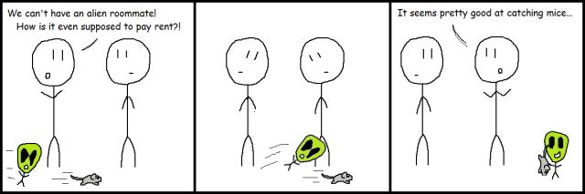 2-18 Alien Roommate