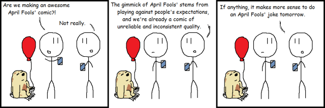 4-1 Not April Fools